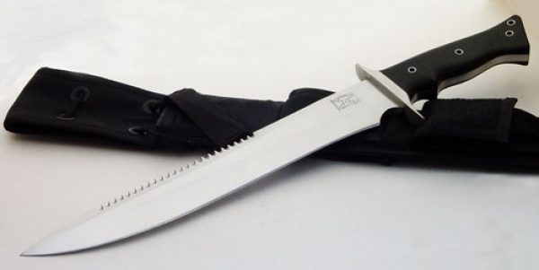 Walter Brend model 2 tactical fixed custom knife