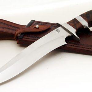 David Broadwell sub-hilt fighter fixed custom knives