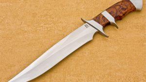 David Broadwell fixed custom knives