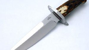 Schuyler Lovestrand mastodon fighter fixed custom knife