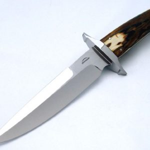 Schuyler Lovestrand mastodon fighter fixed custom knife