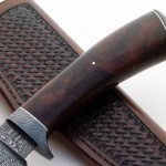 Shawn McIntyre fixed custom knife handle Robertson's Custom Cutlery