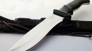 Walter Brend bush hog tactical fixed custom knife