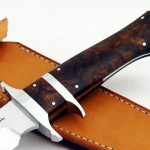 Schuyler Lovestrand fixed custom knife