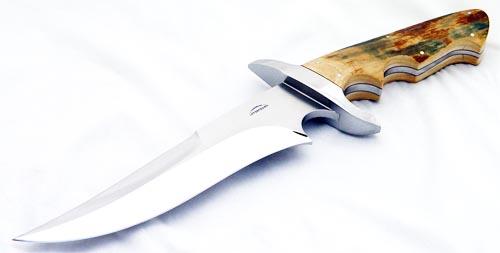 Schuyler Lovestrand f-2 fighter fixed custom knife