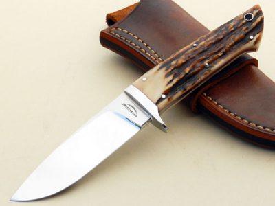 Schuyler Lovestrand stag hunter fixed custom knives