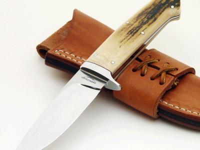 Schuyler Lovestrand mastodon hunter fixed custom knife