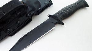 Toni Oostendorp tactical fixed custom knife