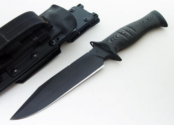 Toni Oostendorp tactical fixed custom knife