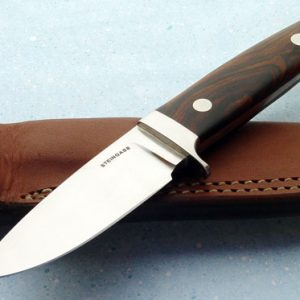Tim Steingass hunter fixed custom knife Robertson's Custom Cutlery