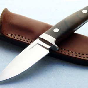 Tim Steingass walnut hunter fixed custom knife