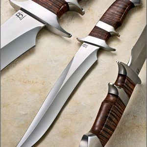 David Broadwell fixed custom knives