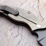 Sniper Bladeworks folder clip folding custom knives