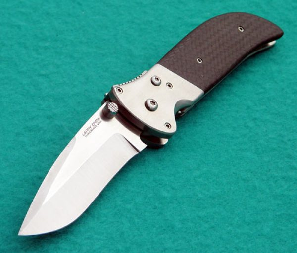 Larry Chew spawn cujo folder folding custom knives