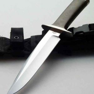 Dennis Friedly M-21 fighter fixed custom knife