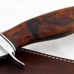 Jim Siska contemporary fighter fixed custom knife
