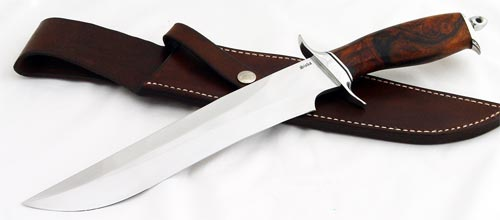 Jim Siska fighter fixed custom knives