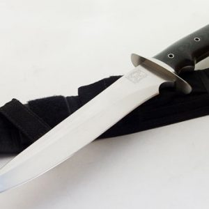 Walter Brend model 2 fixed custom knives Robertson's Custom Cutlery