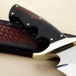 Schuyler Lovestrand F2 fighter fixed custom knife