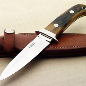 John Young dagger ivory fixed custom knife