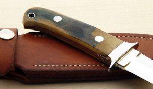 John Young dagger fixed custom knives