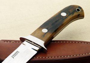 John Young mastodon dagger fixed custom knives