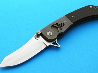Will Zermeno azrael punisher folder folding custom knife