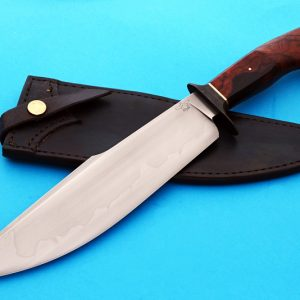 Mike Deibert forged harpoon bowie fixed custom knife ABS Journeyman Smith