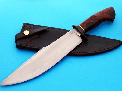 Mike Deibert forged harpoon bowie fixed custom knife ABS Journeyman Smith