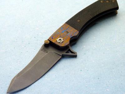 Will Zermeno Azrael MT knife Robertson's Custom Cutlery tactical folder folding knife