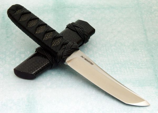 RJ Martin fixed custom knife kawiken 5