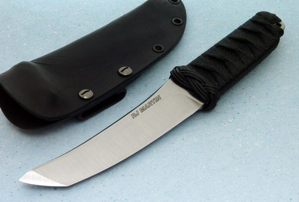 RJ Martin fixed custom knives