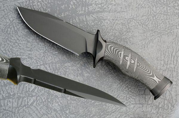 Toni Oostendorp fixed custom knife
