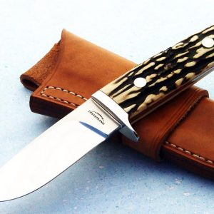 Schuyler Lovestrand stag hunter fixed custom knives