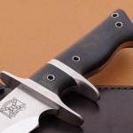Walter Brend sub-hilt fighter fixed custom knives