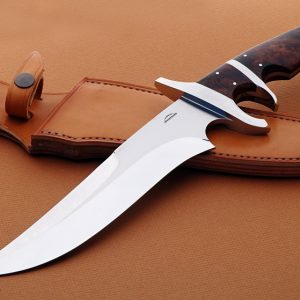 Schuyler Lovestrand sub-hilt fighter fixed custom knife
