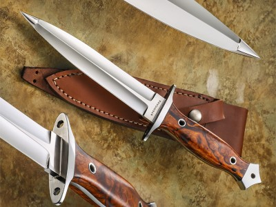 Tim Steingass dagger fixed custom knife