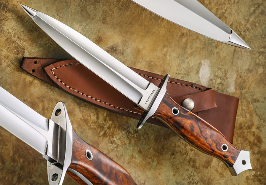 Tim Steingass dagger fixed custom knife