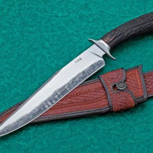 Claudio Ariel Sobral san mail bowie fixed custom knife