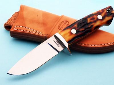Schuyler Lovestrand hunter fixed custom knife Robertson's Custom Cutlery