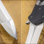 RJ Martin folding custom knife dagger folder