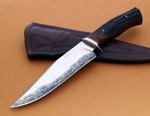 Sobral Custom San Mai Fighter Forged Knife