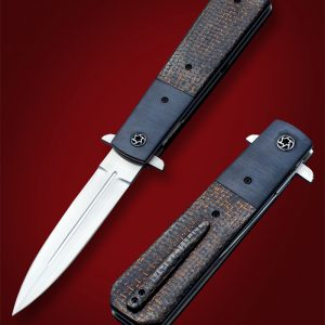 Jim Minnick surreptitious dagger folder folding custom knife