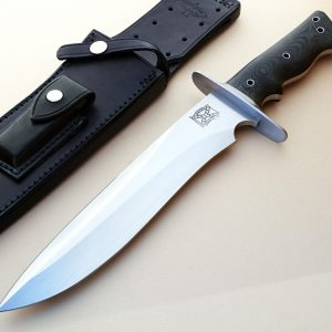 Walter Brend tactical fixed custom knife