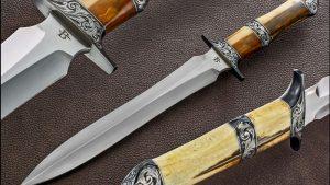 David Broadwell presentation fixed custom knives