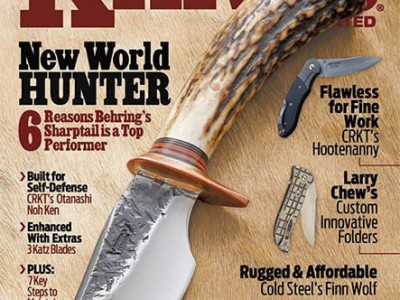 Knives Illustrated Dec 2015 magazine Les Robertson article