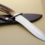 Jim Siska bowie fixed custom knives