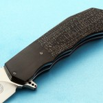 Andre Thorburn folder handle folding custom knife