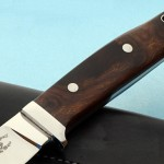 Zane Blackwell hunter fixed custom knife handle