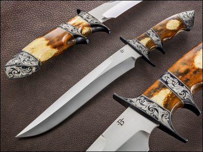 David Broadwell sub-hilt fixed custom knife